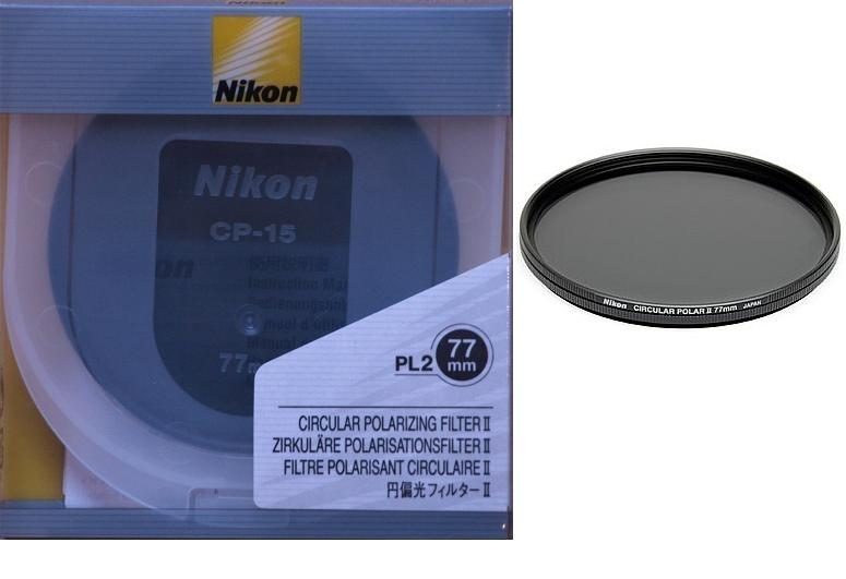 Nikon 77mm Circular Polarizer II Multi-Coated Glass Filter