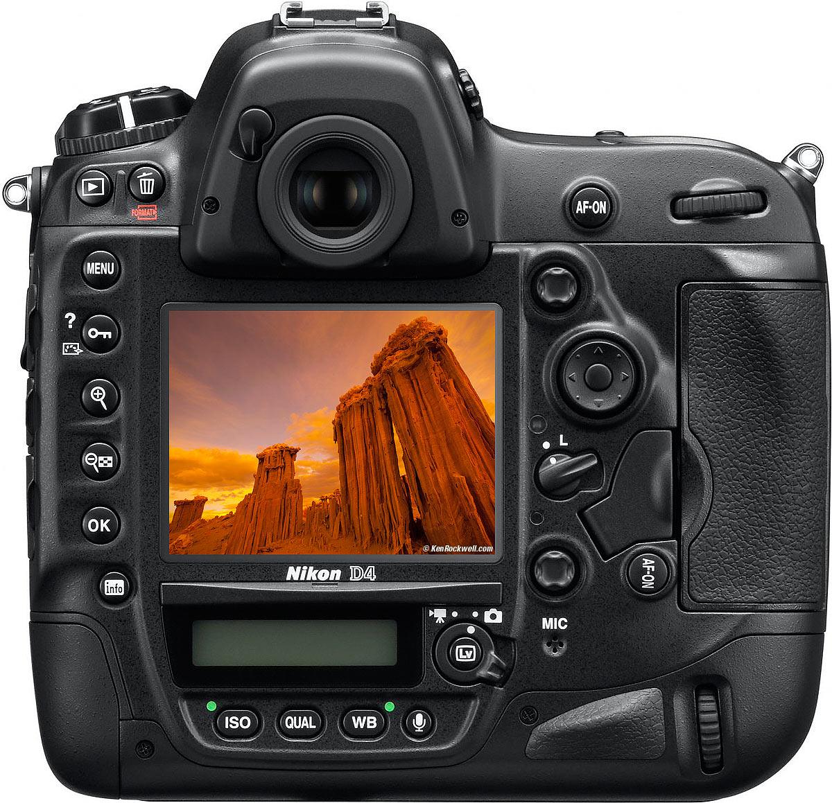 Nikon D4 Full Frame Digital SLR Camera Body Only, UK, WC1