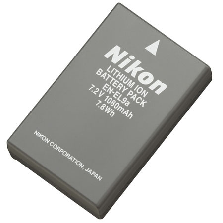 Nikon Lithium-ion EN-EL9a Rechargeable Battery