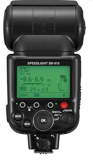 Nikon SB-910 AF Speedlight i-TTL Shoe Mount Flashgun