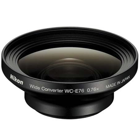 Nikon WC-E76 Wide Angle Converter Lens for the Coolpix