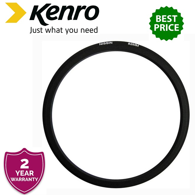Nissin 82mm Adapter Ring for MF18 Macro Flash