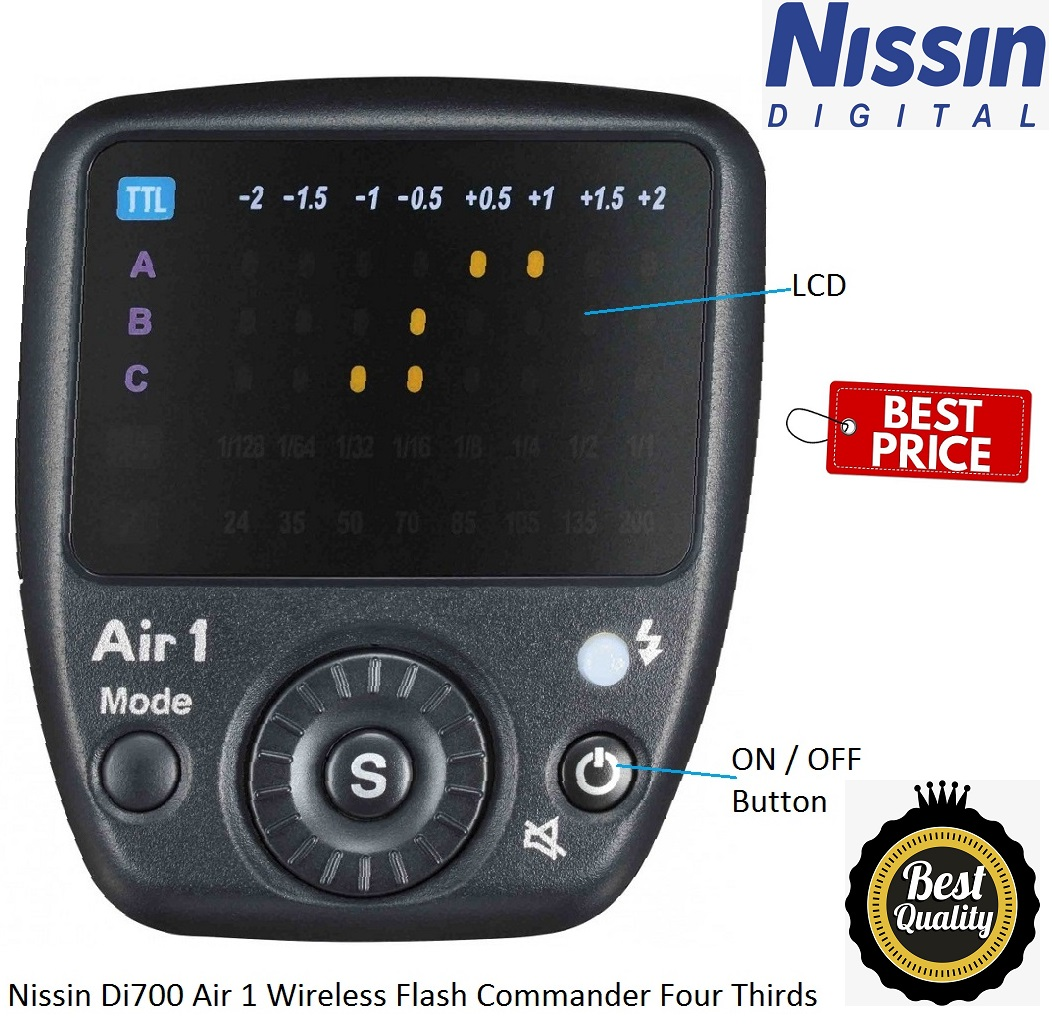 Nissin Di700 Air Flashgun With Air 1 Commander Canon Fit