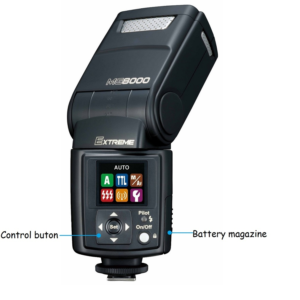 Nissin MG8000 Extreme Flash Gun For Canon E-TTL II Camera