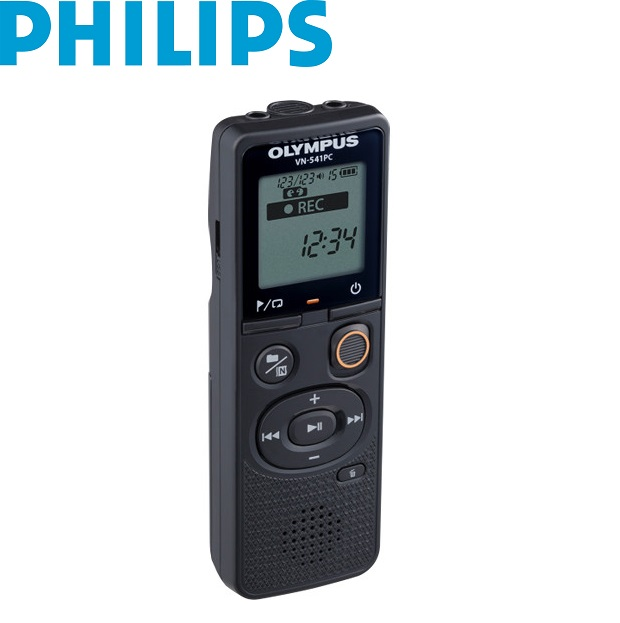 Olympus VN-541PC 4GB Black Digital Voice Recorder inc Battery