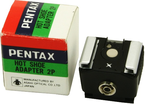 Pentax 2P Hot Shoe Adapter