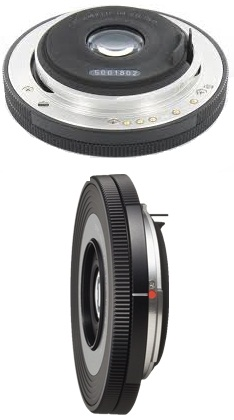 Pentax DA 40mm F2.8 XS Lens (Black)