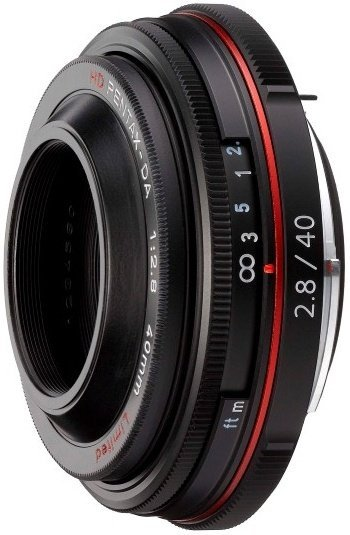 Pentax HD DA 40mm F2.8 Limited Lens (Black)