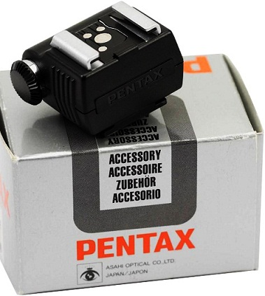 Pentax Hot Shoe Adapter F Flash