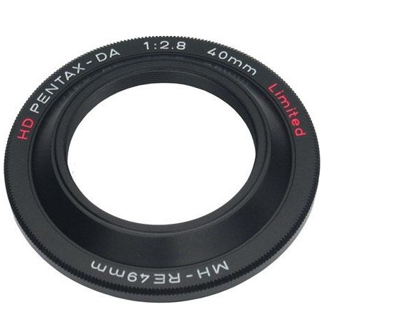 Pentax 49mm MH-RE49 Lens Hood Black