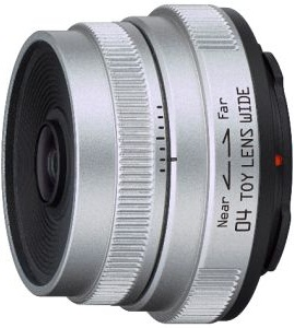Pentax 6.3mm F7.1 Q4 Toy Wide-Angle Lens For Q Mount Cameras