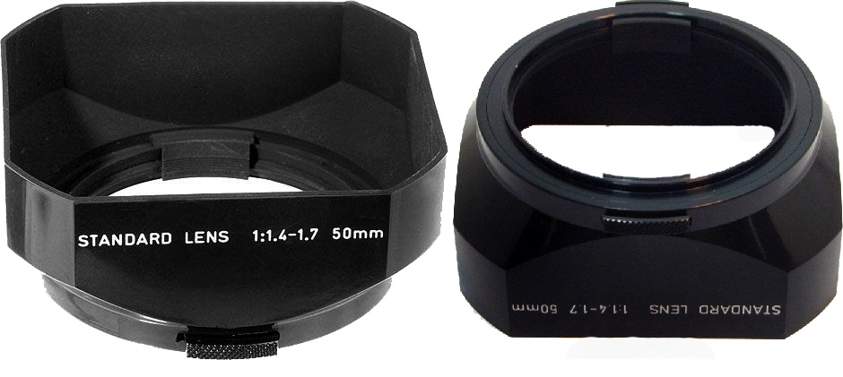 Pentax 49mm Lens Hood Rectangular for 50mm FA F & A-Lenses
