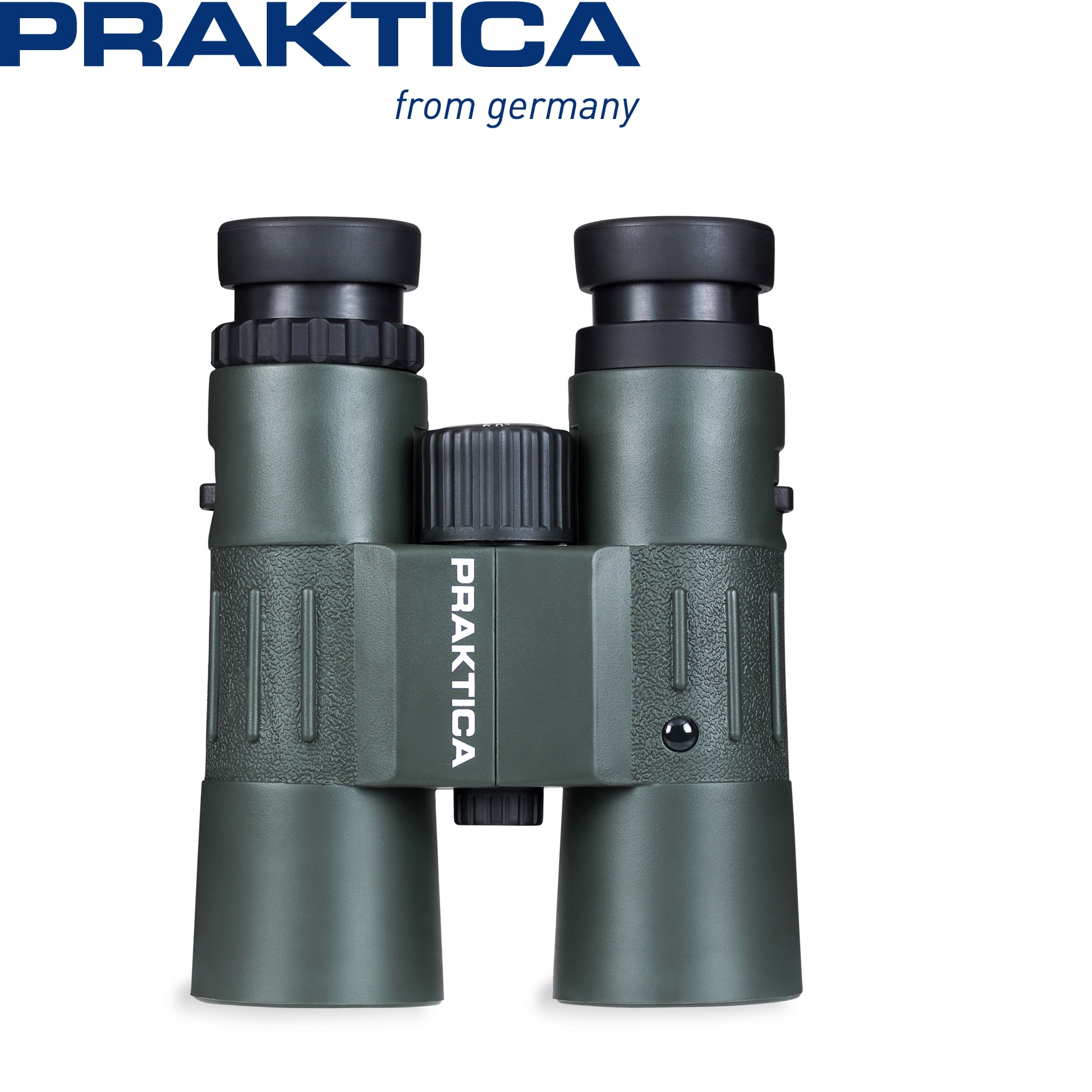 Praktica 10x42mm Waterproof Binoculars Green