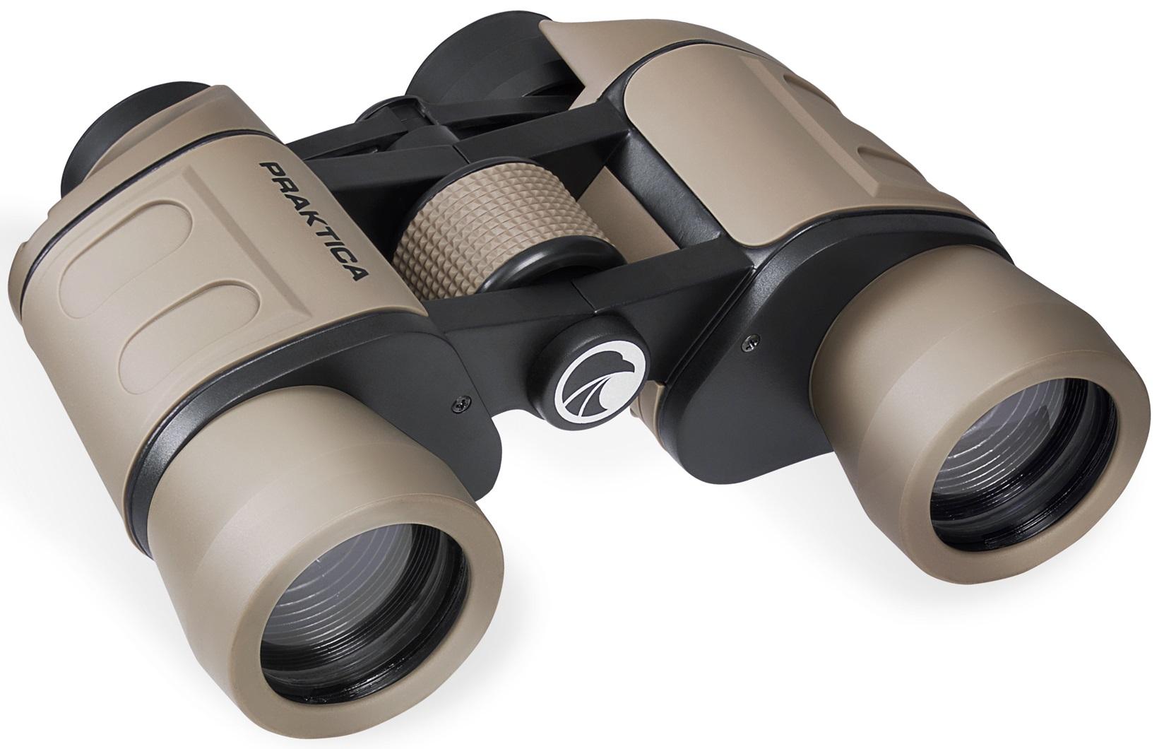Praktica falcon porro prism field binoculars sand pra