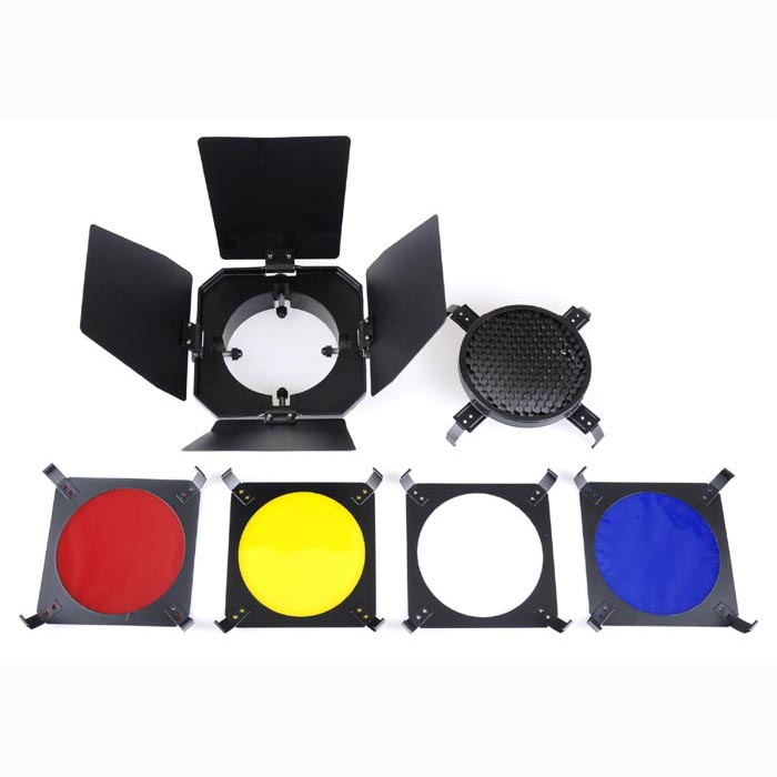 Reflecta Barndoor Kit With Filters For VisiLux Studio Lights