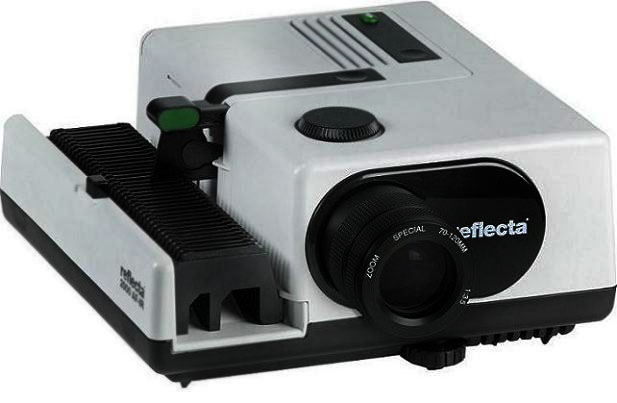 Reflecta slide projector 2000 AF-IR with Zoom 70-120mm
