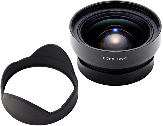 Ricoh 21mm GW-3 Wide-Angle Conversion Lens