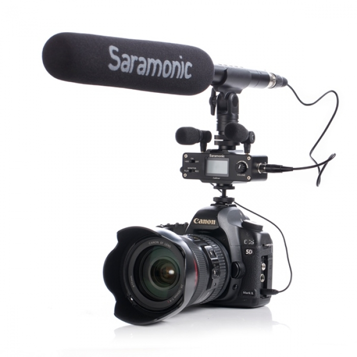 Saramonic 3.5mm Jack Small Shotgun Microphone