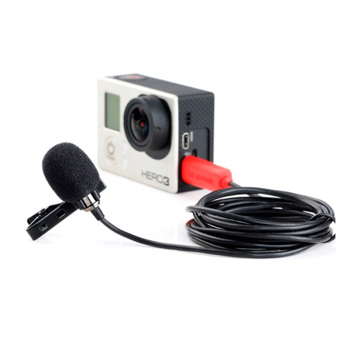 Saramonic Lavalier Microphone for GoPro Cameras