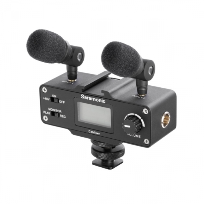 Saramonic CaMixer Mini Audio Adapter for DSLR and Camcorders