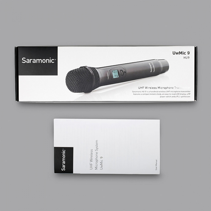 Saramonic HU9 - 96-Channel Digital UHF Wireless Handheld Microphone