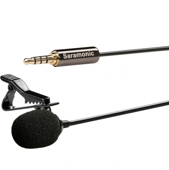 Saramonic SR–LMX1 Lavalier Microphone for Smartphone