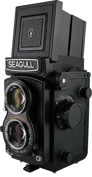 Seagull 4A-105 Medium Format Twin Lens Reflex Camera
