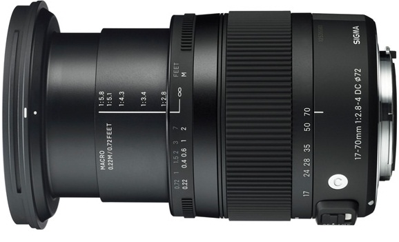 Sigma DC Macro 17-70mm F2.8-4 OS HSM Lens For Canon