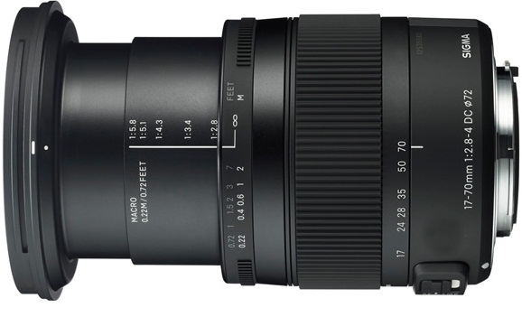 Sigma 17-70mm F2.8-4 DC Macro OS HSM Lens For Nikon