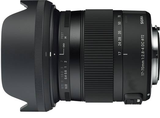 Sigma Sony-Fit 17-70mm F2.8-4 DC Macro OS HSM Lens