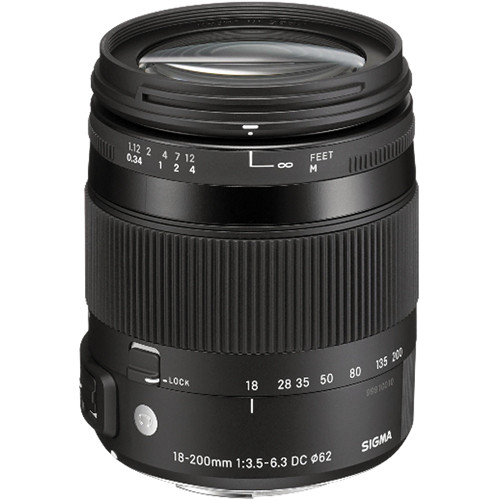 Sigma 18-200mm F3.5-6.3 DC Macro OS HSM Lens For Sony