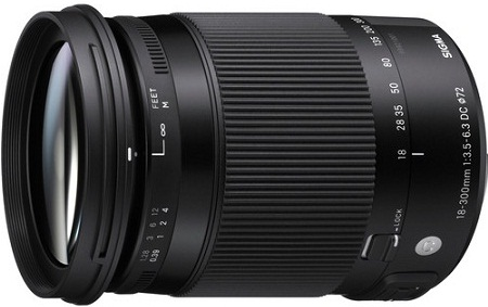Sigma 18-300mm F3.5-6.3 DC Macro OS HSM Contemporary Lens For Sigma