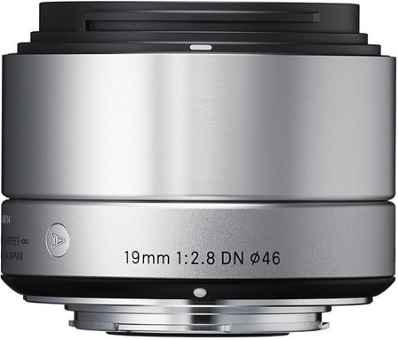 Sigma 19mm F2.8 DN Lens For Sony E-mount Cameras Silver