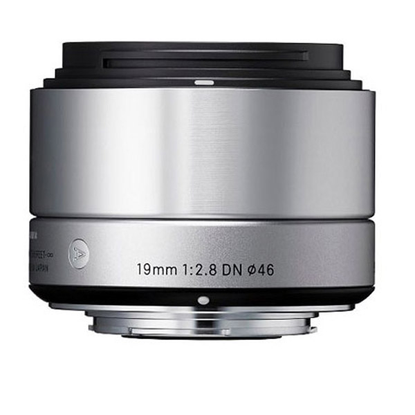 Sigma 19mm F/2.8 DN Lens For Micro Four Thirds Cameras - Silver