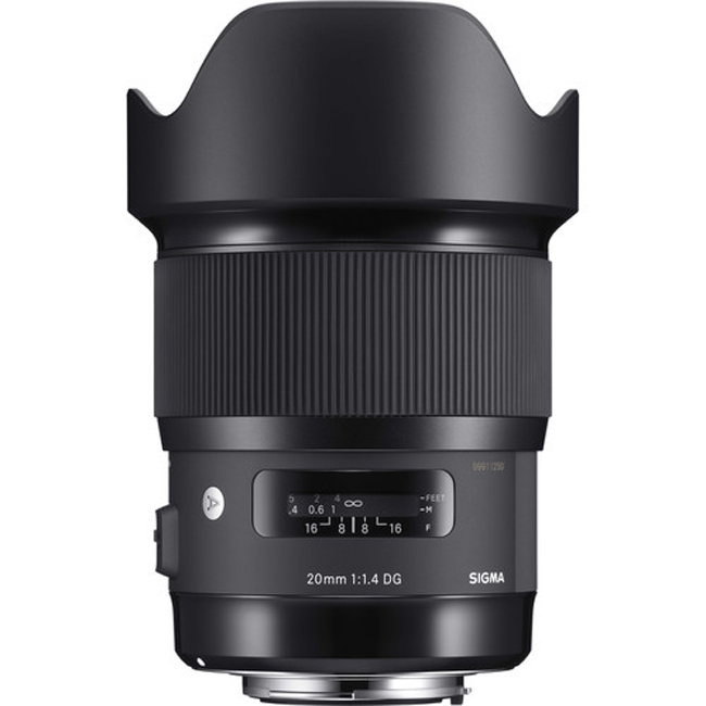 Sigma 20mm F/1.4 DG HSM Art Lens for Canon