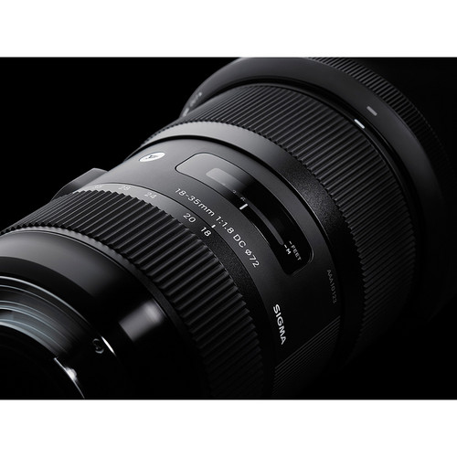 Sigma 18-35mm F1.8 DC HSM Art Lens For Sony Alpha