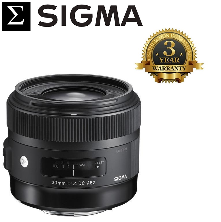 Sigma 30mm F1.4 DC HSM Art Lens For Nikon