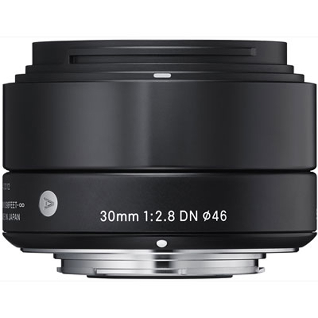 Sigma 30mm f2.8 DN Lens For Sony Cameras- Black