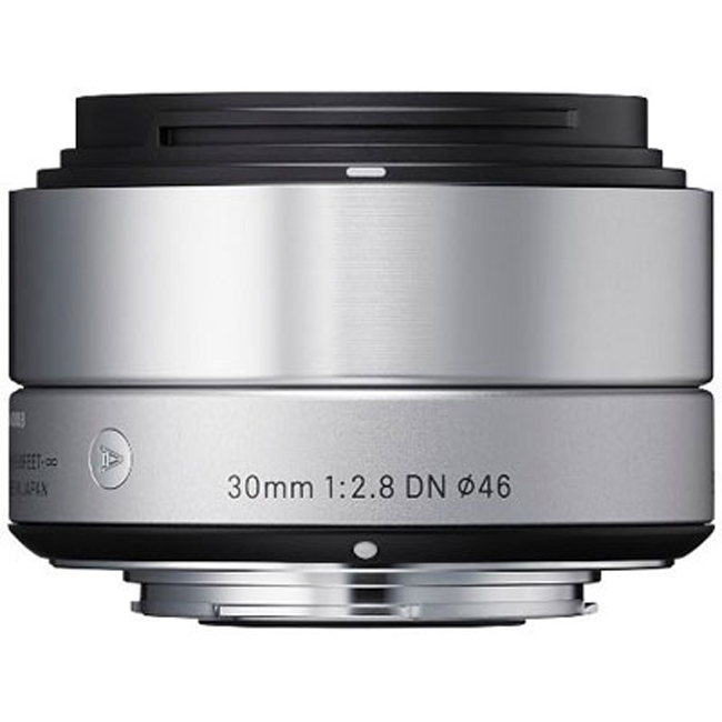 Sigma 30mm f2.8 DN Lens For Sony Cameras- Silver