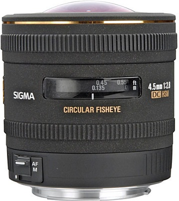 Sigma 4.5mm F2.8 EX DC HSM Circular Fisheye Lens For Sony