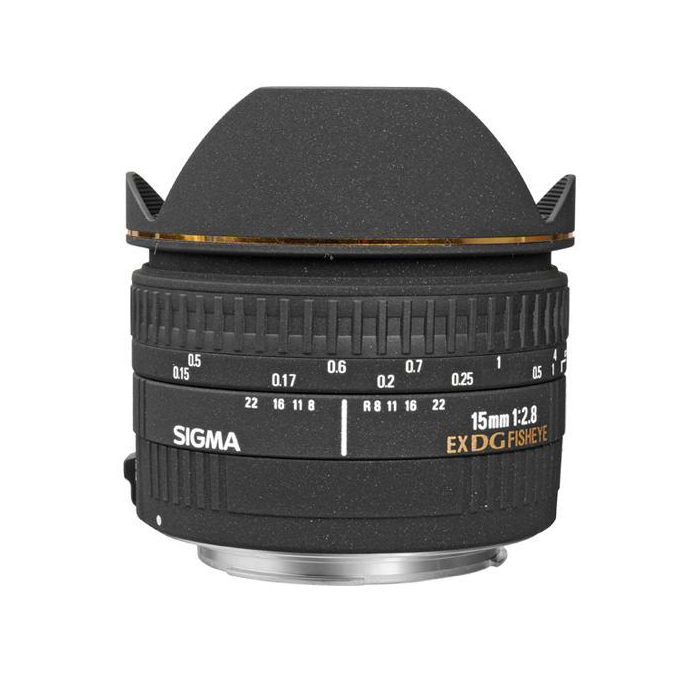 Sigma 15mm F2.8 EX DG Diagonal Fisheye Lens For Nikon
