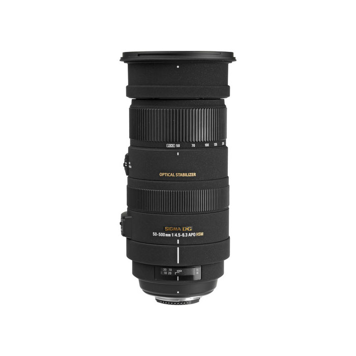Sigma 50-500mm F4.5-6.3 DG OS APO HSM Lens For Sigma