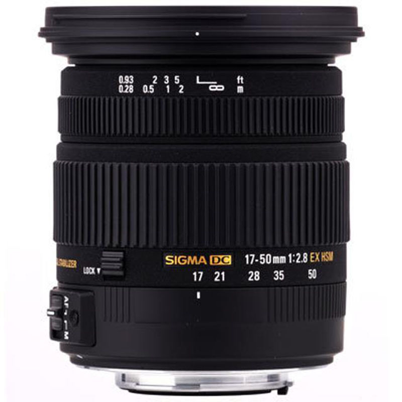 Sigma 17-50mm F2.8 EX DC OS HSM Lens For Nikon