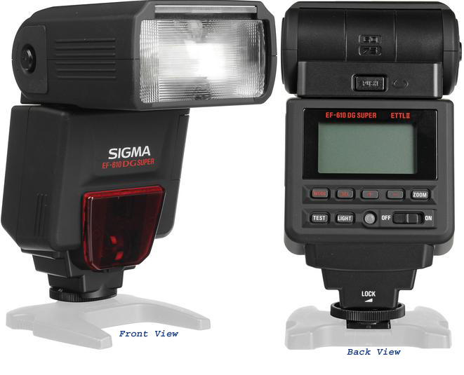 Sigma EF-610 DG Super Flash for Canon DSLR Cameras