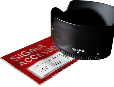 Sigma LH715-01 Lens Hood For 30mm F1.4 EX DC Lens