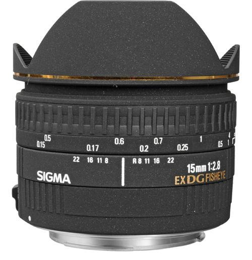 Sigma 15mm F2.8 DG Lens for Canon