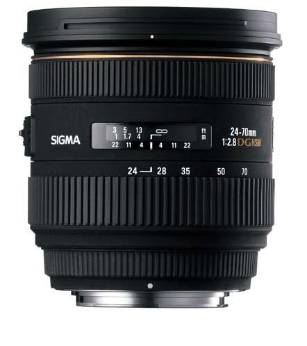 Sigma Aspherical IF EX DG HSM 24-70mm f/2.8 AF Lens for Sony Alpha