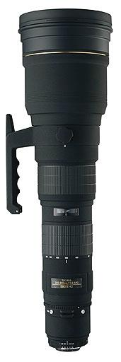 Sigma 300-800mm F5.6 EX DG APO IF HSM AF Zoom Lens for Canon