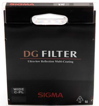 Sigma 52mm DG EX Circular Polarizer filter