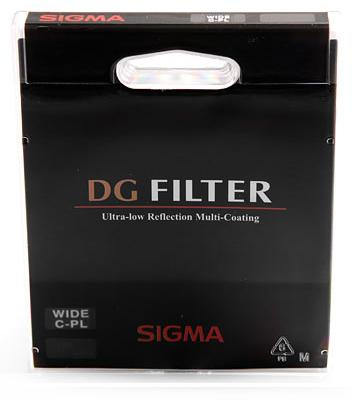 Sigma 67mm EX DG Circular Polarising Filter